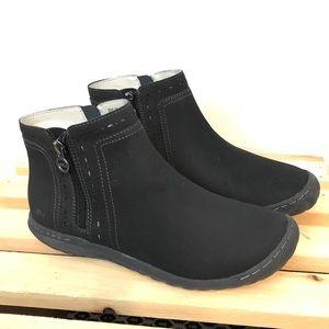 JBU + Black Juno Boots